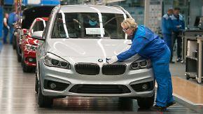 Trotz wetterndem US-Präsidenten: Deutsche Wirtschaft hält Kurs