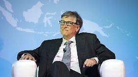 Bill Gates versucht mittlerweile, sein Vermögen für gute Zwecke einzusetzen.