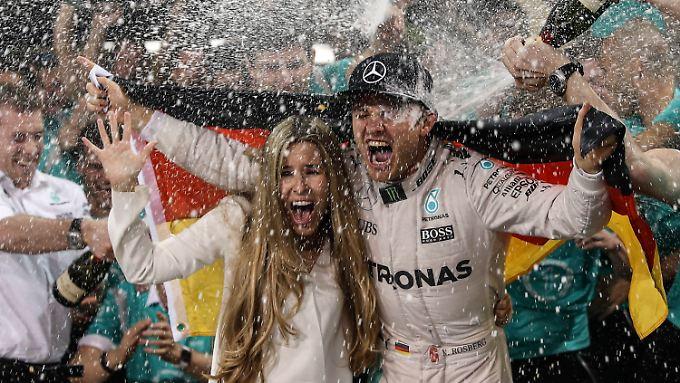 Die große Show bekam Nico Rosberg zum Gewinn seines WM-Titels. Ähnlich könnte es demnächst öfter in der Formel 1 zugehen.