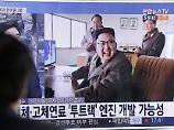 Höherer Druck auf China: USA wollen neue Sanktionen gegen Nordkorea