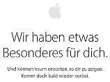 Shop geht offline: Heute kommen neue Apple-Geräte
