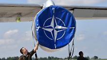Tillerson stiftet Verwirrung: Trump trifft Nato-Chef Stoltenberg