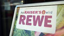Rewe baut schneller um als Edeka: Kaiser's Tengelmann wird immer seltener
