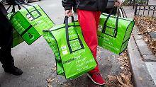 """Lieferdienst für Lebensmittel: Post mischt bei """"Amazon Fresh"""" mit"""