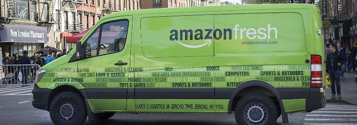 Per Mausklick zum vollen Kühlschrank: DHL soll Lebensmittel für Amazon liefern