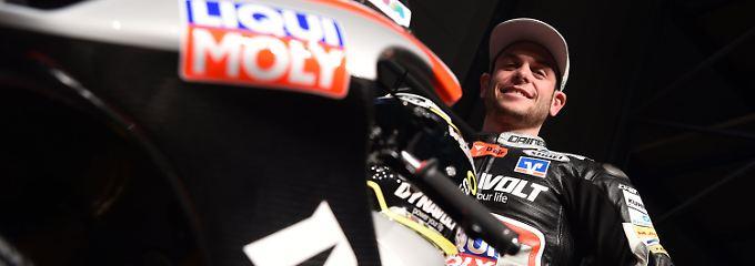 Sandro Cortese startet für das Dynavolt-Intact-GP-Team - gemeinsam mit Marcel Schrötter.