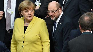 Gelassenheit oder Schockstarre?: Merkel kämpft in aller Ruhe