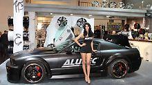Mit seinen Marken wie Alutec richtete sich Uniwheels nicht nur an die Autohersteller, sondern vor allem direkt an die - männlichen - Verbraucher.