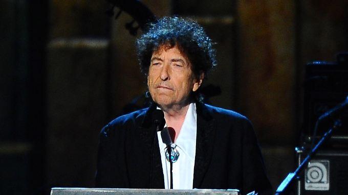 Bob Dylan hört vor allem CDs.