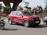 In Indien ist der Renault Kwid binnen einen Jahres zum Verkausschlager geworden.