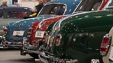 Classic Motorshow eröffnet Saison: In Bremen kommen Oldtimerfans auf ihre Kosten
