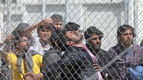 Lager auf griechischen Inseln: Flüchtlinge sitzen in der Falle