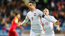 Dank Piszczek und Lewandowski: Polen steuert weiter auf WM-Kurs