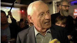 """Oskar Lafontaine zur Wahlniederlage: """"Das ist ein Signal an die deutsche Sozialdemokratie"""""""