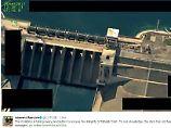 Der Staudamm von Tabka ist bei Luftangriffen außer Betrieb gesetzt worden. Das bedroht Städte flussabwärts.