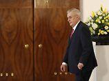 Tschechiens Staatschef betroffen: Hacker laden Pornos auf Präsidenten-PC