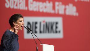 """Deutsche Politiker geben Kontra: Wagenknecht nennt Erdogan einen """"Terrorpaten"""""""