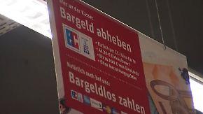 n-tv Ratgeber: Supermarktkassen machen Geldautomaten Konkurrenz