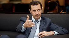 Ende Assads nicht mehr nötig?: USA deuten Strategiewechsel in Syrien an