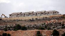 """Es gibt bereits mehr als 200 israelische Siedlungen im Westjordanland, ständig werden neue gebaut - bislang allerdings """"wild""""."""