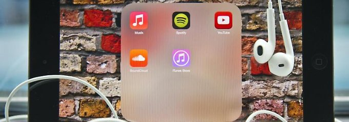 Immer mehr Streaming-Dienste bieten Musik zum Abruf über das Internet an.