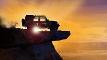 Wie jedes Jahr zu Ostern präsentiert Jeep in der Moab-Wüste seinen Studien-Fuhrpark.