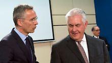 """Nato soll Strategie überdenken: Tillerson spricht von """"russischer Aggression"""""""