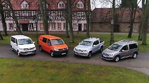 Unterwegs im Gelände: VW-Nutzfahrzeuge mit Allrad im Test
