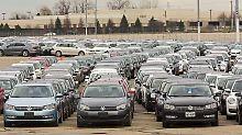 """""""Autofriedhof"""" in den USA: Wo VW seine Schummel-Diesel parkt"""
