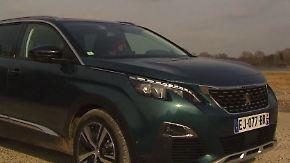 Beinfreiheit und Schnickschnack: Peugeot 5008 besticht mit Stadtkomfort