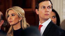 Nach Übernahme von Beraterposten: Weißes Haus gibt Ivankas Vermögen preis