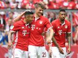 Befreit: FC-Bayern-Torjäger Thomas Müller.