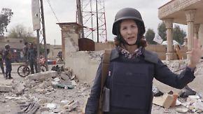 """Antonia Rados im zerstörten Mossul: """"Derzeit stockt alles"""""""