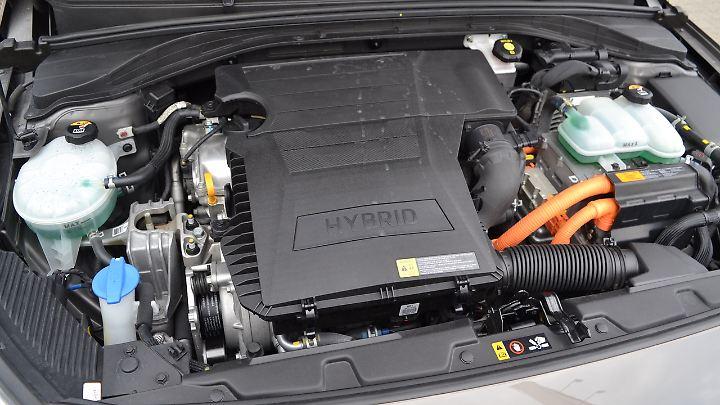 Der 1,6 Liter Verbrenner mit 105 PS ist kein Ausbund an Spritzigkeit.