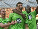 Hattrick in Leverkusen: Gomez holt Remis im Alleingang