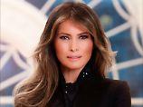 Weißes Haus veröffentlicht Foto: Melania Trumps entrückter Blick nun offiziell