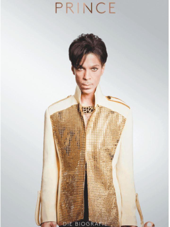 """""""Prince - Die Biografie"""" ist bei Edel Books erschienen, 784 Seiten mit 30 Abbildungen, Hardcover, Preis: 29,95 Euro."""