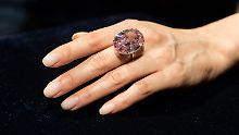 """Auktion eines Sensationsdiamants: """"Pink Star"""" geht für Rekordbetrag weg"""