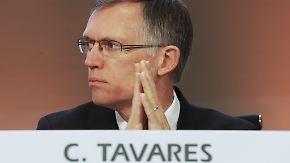 Spitzentreffen in Berlin: PSA-Chef Tavares hat viel zu erklären