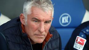 Neues aus der Welt des Sports: Karlsruhe trennt sich von Trainer Slomka