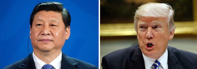 Profi trifft Amateur. Xi ist seit Jahrzehnten in der Politik, Trump erst seit wenigen Wochen.