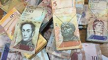 Der Bolívar verliert immer mehr an Wert.