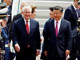 """""""Teil einer neuen Strategie"""": USA umgarnen China in Nordkorea-Frage"""