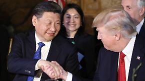 """""""Freundschaft"""" mit Chinas Staatschef: Trump empfängt Xi auf seinem Anwesen"""