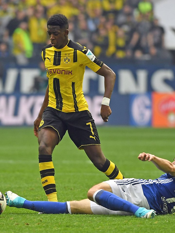 Die Bundesliga-Sensation der Saison: Dortmunds Ousmane Dembélé.