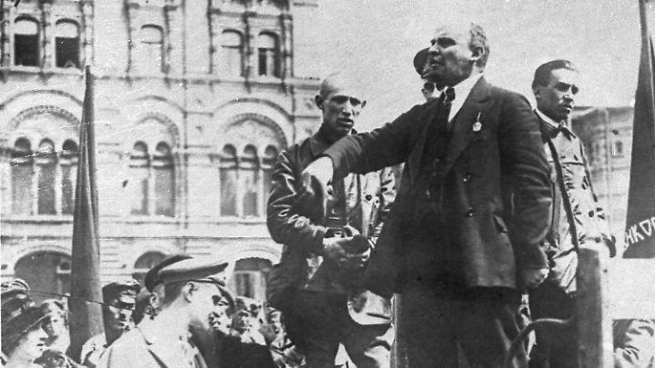 Da liegt die Oktoberrevolution schon hinter ihm: Lenin im Jahr 1921.