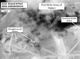 """""""Wir sind darauf vorbereitet"""": USA drohen mit weiteren Angriffen in Syrien"""