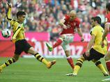 Arjen Robben erzielte sein Standard-Robben-Tor zum 3:1.