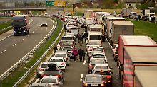 Chaos an kroatischer Grenze: Slowenien setzt Kontrollen für EU-Bürger aus