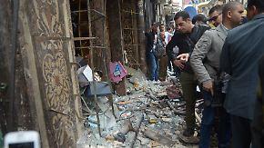 Dutzende Tote: IS-Miliz bekennt sich zu Anschlägen gegen Kopten in Ägypten